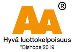 AA hyvä luottokelpoisuus logo